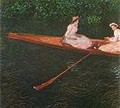 Claude Monet Pink Boat 1887