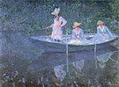 Claude Monet The Boat at Giverny 1887