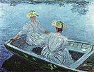 Claude Monet The Blue Boat 1887