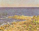 Claude Monet The Sea near Antibes 1888