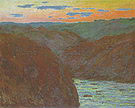 Claude Monet Valley of the Creuse (Afternoon Effect) 1889