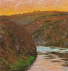 Claude Monet Valley of the Creuse (Evening Effect) 1889