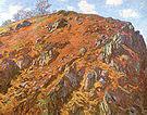 Claude Monet Study of Rocks Creuse 1889