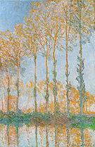 Claude Monet Poplars (Banks of the Epte) 1891