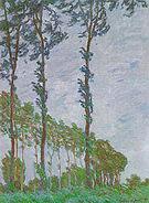 Claude Monet Poplars (Win Effect) 1891