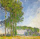 Claude Monet Poplars (View from the Marsh) 1891