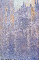 Claude Monet Rouen Cathedral Facade (Morning Effect) 1892