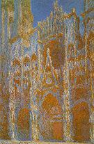 Claude Monet Rouen Cathedral Facade 1892