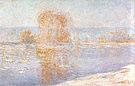 Claude Monet Ice Floes (Bennecourt) 2 1893