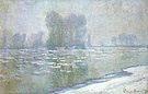 Claude Monet Ice Floes (Morning Haze) Bennecourt 1893