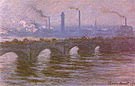 Claude Monet Waterloo Bridge (Cloudy Day)  1899