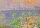 Claude Monet Waterloo Bridge London 1899