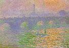 Claude Monet Waterloo Bridge London 1899