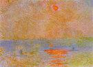Claude Monet Waterloo Bridge (Sun in the Fog) 1903