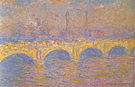 Claude Monet Waterloo Bridge (Sunlight Effect) 1903