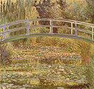 Claude Monet The Water Lily Pond (Japanese Bridge) 1899