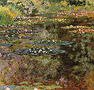 Claude Monet The Water Lily Pond Giverny 1904