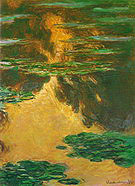 Claude Monet Water Lilies (Evening) 1907