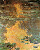 Claude Monet Water Lilies 1907