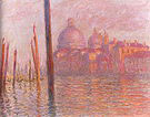 Claude Monet The Grand Canal and the Salute Church Venice 1908