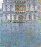 Claude Monet Palazzo Contarini Venice 1908