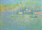 Claude Monet San Giorgio Maggiore Venice (Twilight) 1908