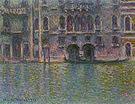 Claude Monet Palazzo da Mula Venice 1908