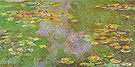 Claude Monet Water Lily Pond Giverny 1919