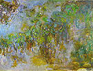 Claude Monet Wisteria Giverny 1918