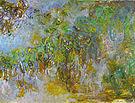 Claude Monet Wisteria Giverny 1918
