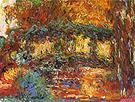 Claude Monet Japanese Bridge at Giverny 1923