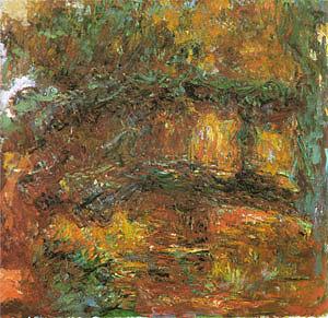 Claude Monet The Japanese Bridge at Giverny 1923