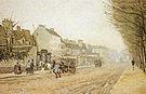 Alfred Sisley Boulevard Heloise Argenteuil 1872