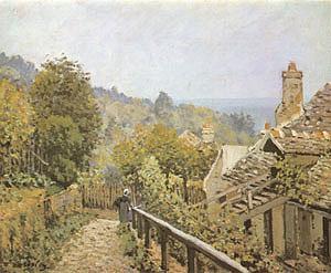 Alfred Sisley Sentier de la Mi Cote Louveciennes 1873