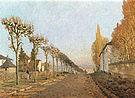 Alfred Sisley Chemin de la Machine Louveciennes 1873