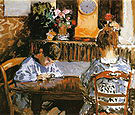 Alfred Sisley The Lesson 1874