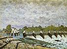 Alfred Sisley Molesey Weir Morning 1874
