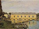 Alfred Sisley The Machine at Marly 1873