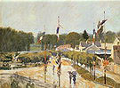 Alfred Sisley Fete Day at Marly le Roi 1875