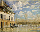 Alfred Sisley Boat in the Flood at Port Marly 1876