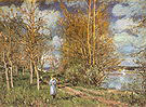 Alfred Sisley Small Meadows in Spring By 1881