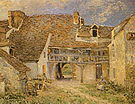 Alfred Sisley Courtyard of Farm at St Mammes 1884