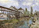 Alfred Sisley Provencher's Mill at Moret 1883
