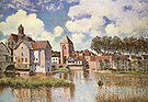 Alfred Sisley Moret Sur Loing 1891