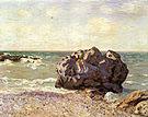 Alfred Sisley Langland Bay Storr s Rock Morning 1897