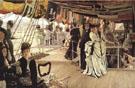 James Tissot The Ball on Shipboard 1874
