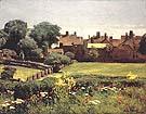Childe Hassam Village Scene, 1883