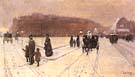 Childe Hassam A City Fairyland, 1886.