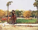 Childe Hassam In the Park, 1889.
