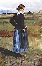 Childe Hassam French Peasant Girl1883